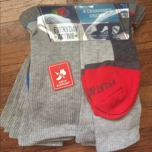 Fruit of the Loom socks long pack set size large